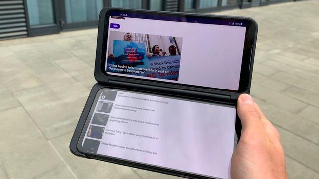 Eerste indruk: Tweede scherm van LG G8X ThinQ bewijst nut niet direct
