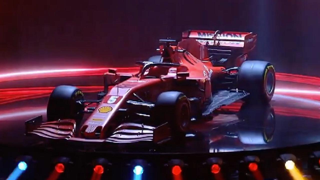 Ferrari Presents Formula 1 Car For 2020 Teller Report