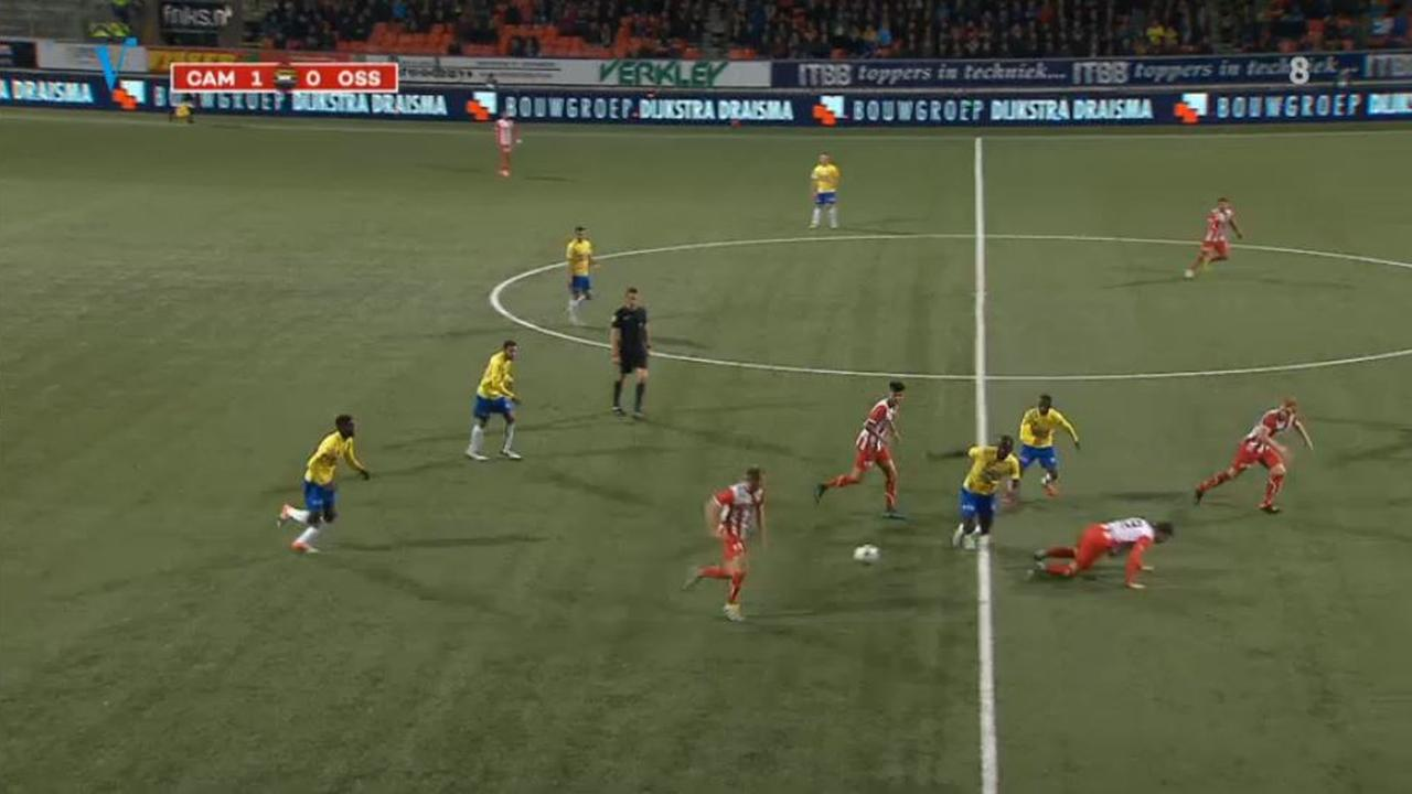 Samenvatting SC Cambuur - FC Oss