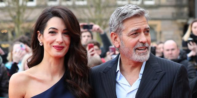 George Clooney en zijn vrouw Amal sturen elkaar nog steeds brieven