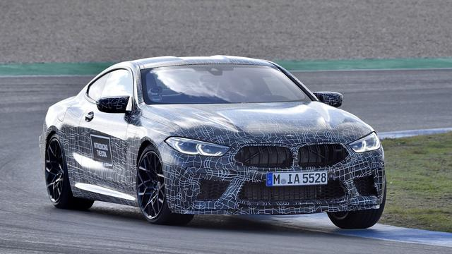 Nieuwe BMW M8 wordt lichter en krijgt meer vermogen dan M850i