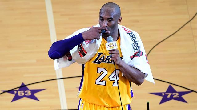 LA Lakers gaat shirtnummers legende Bryant niet meer gebruiken
