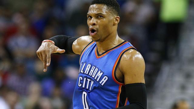 Westbrook passeert Bird met zestigste 'triple-double' in NBA