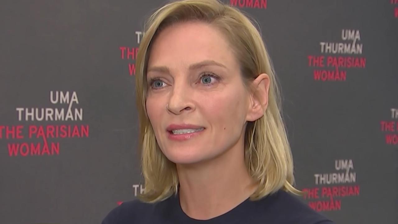 Uma Thurman reageert emotioneel op verhalen van misbruik in Hollywood