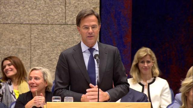 Rutte: 'VVD is geloof ik voor een kiesdrempel, maar ik ben tegen'