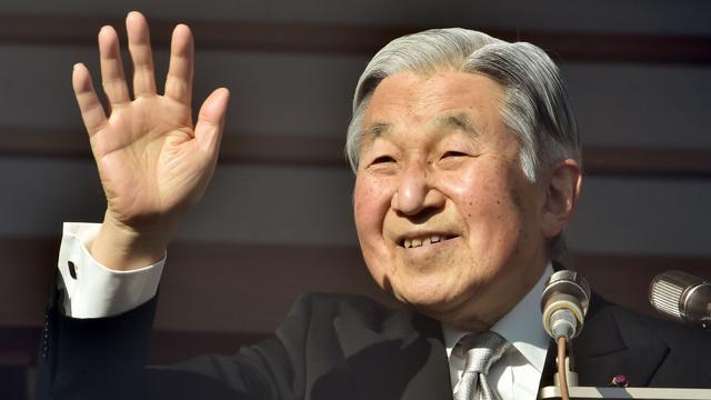 Japanse keizer Akihito (82) zinspeelt op einde leiderschap