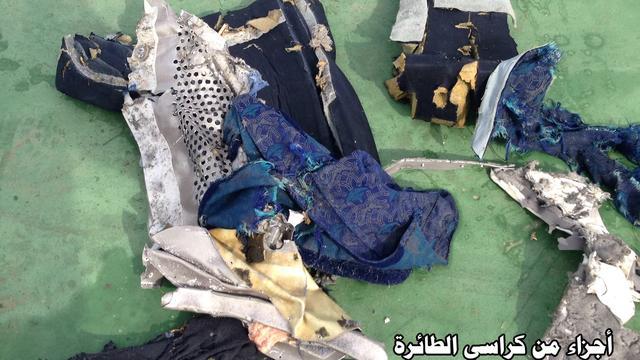 Justitie Frankrijk denkt bij crash EgyptAir niet aan terrorisme