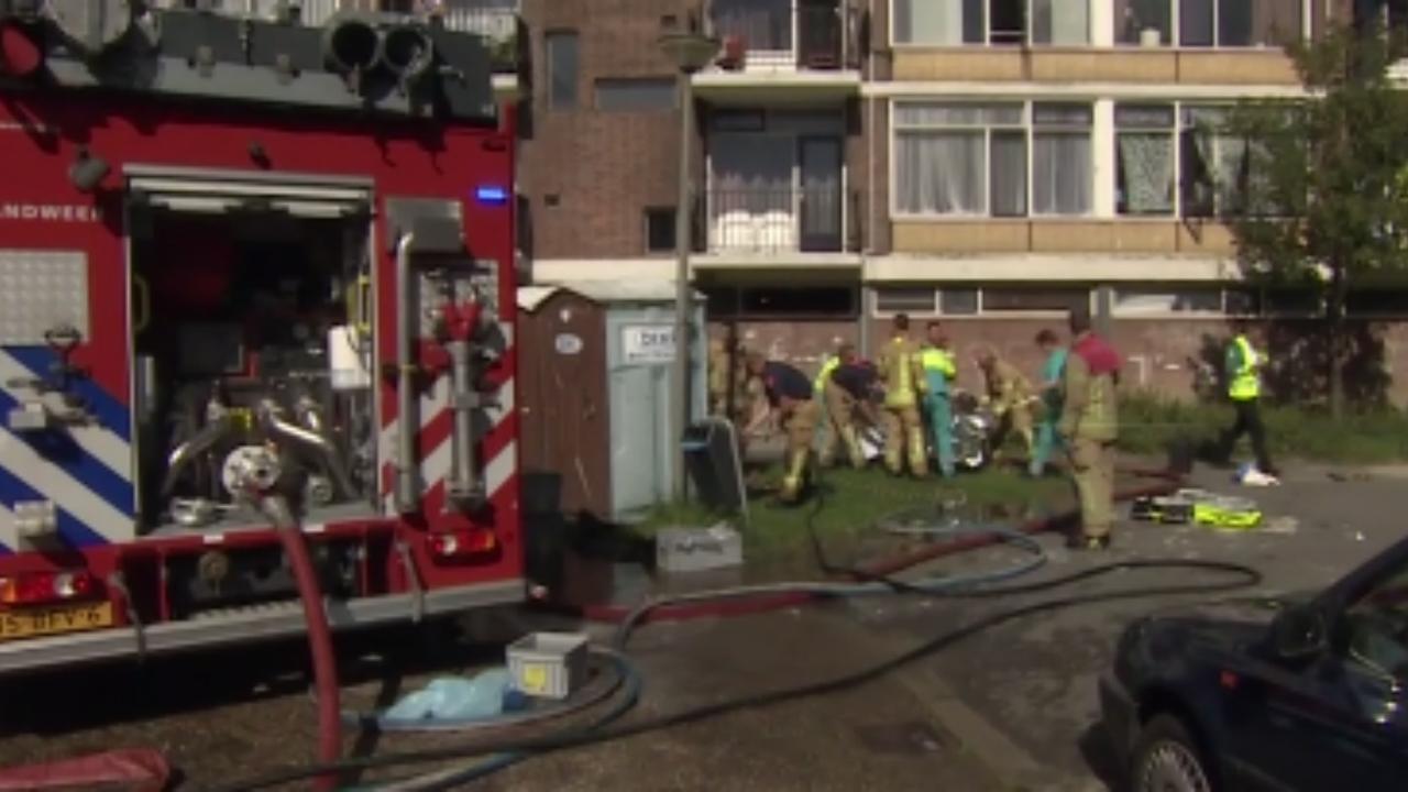 Twee gewonden en twee doden na explosie kelderbox Schiedam