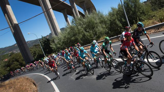Astana-kopman Lopez geeft op na val in Vuelta