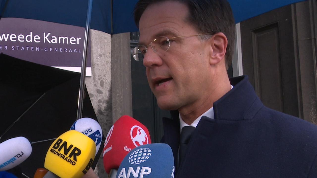 Rutte legt uit waarom hij met CDA en D66 in kabinet wil