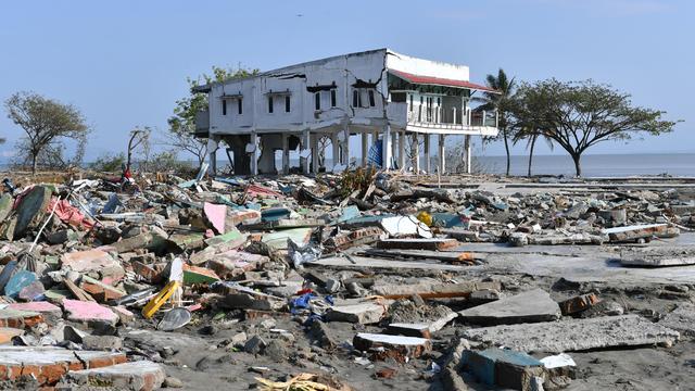 Aardbeving die Indonesisch Sulawesi in september trof zeldzaam zwaar