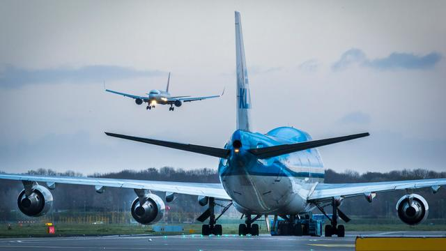 Cabinepersoneel KLM houdt vanaf woensdag stiptheidsacties