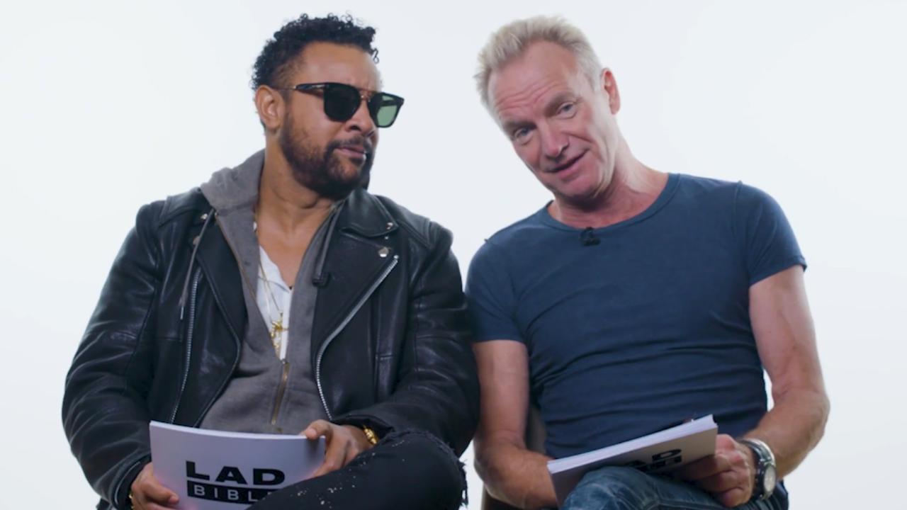 Shaggy en Sting geven datingadviezen