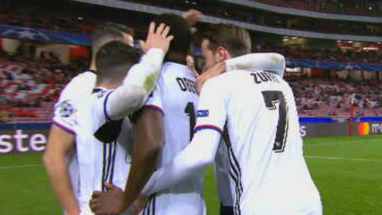 Samenvatting Benfica-FC Basel (0-2)