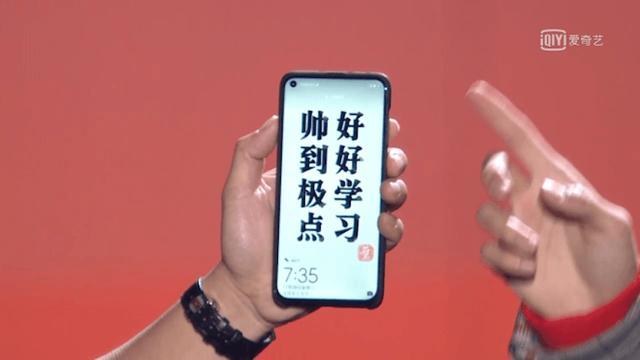 Huawei toont randloze smartphone zonder inkeping boven in scherm