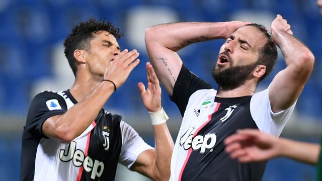 Zwoegend Juventus op gelijke hoogte tegen Sassuolo