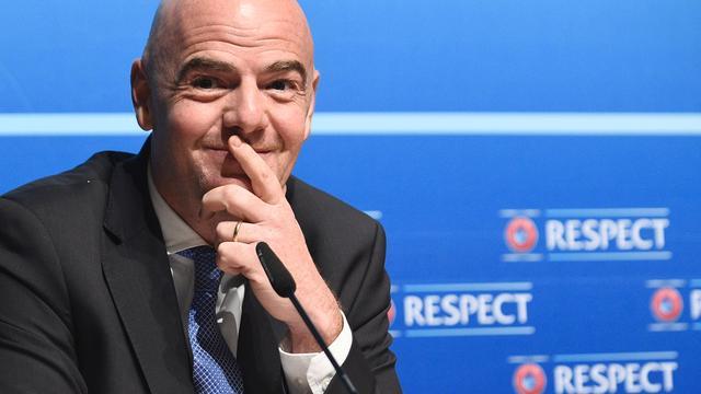 UEFA-bestuur steunt FIFA-kandidaat Infantino