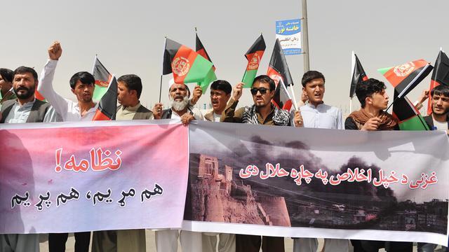 Honderden doden na dagenlange gevechten in Afghaanse stad Ghazni