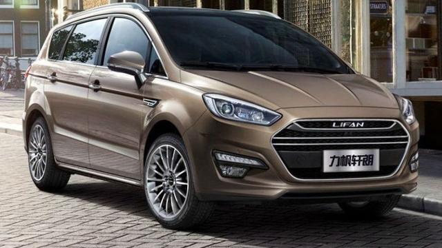 Chinese Lifan presenteert kopie van Ford S-Max