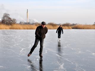 Laagste temperatuur gemeten in Twente, hoogste nabij Maastricht