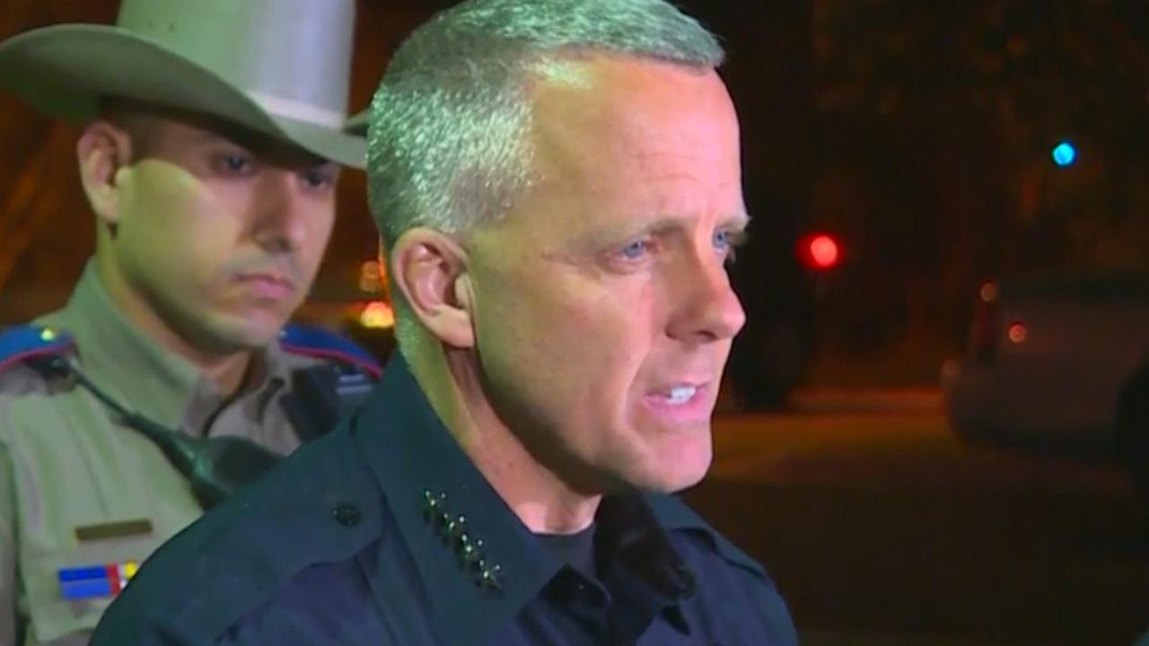 Politie Austin: 'Explosie mogelijk veroorzaakt door struikeldraad'