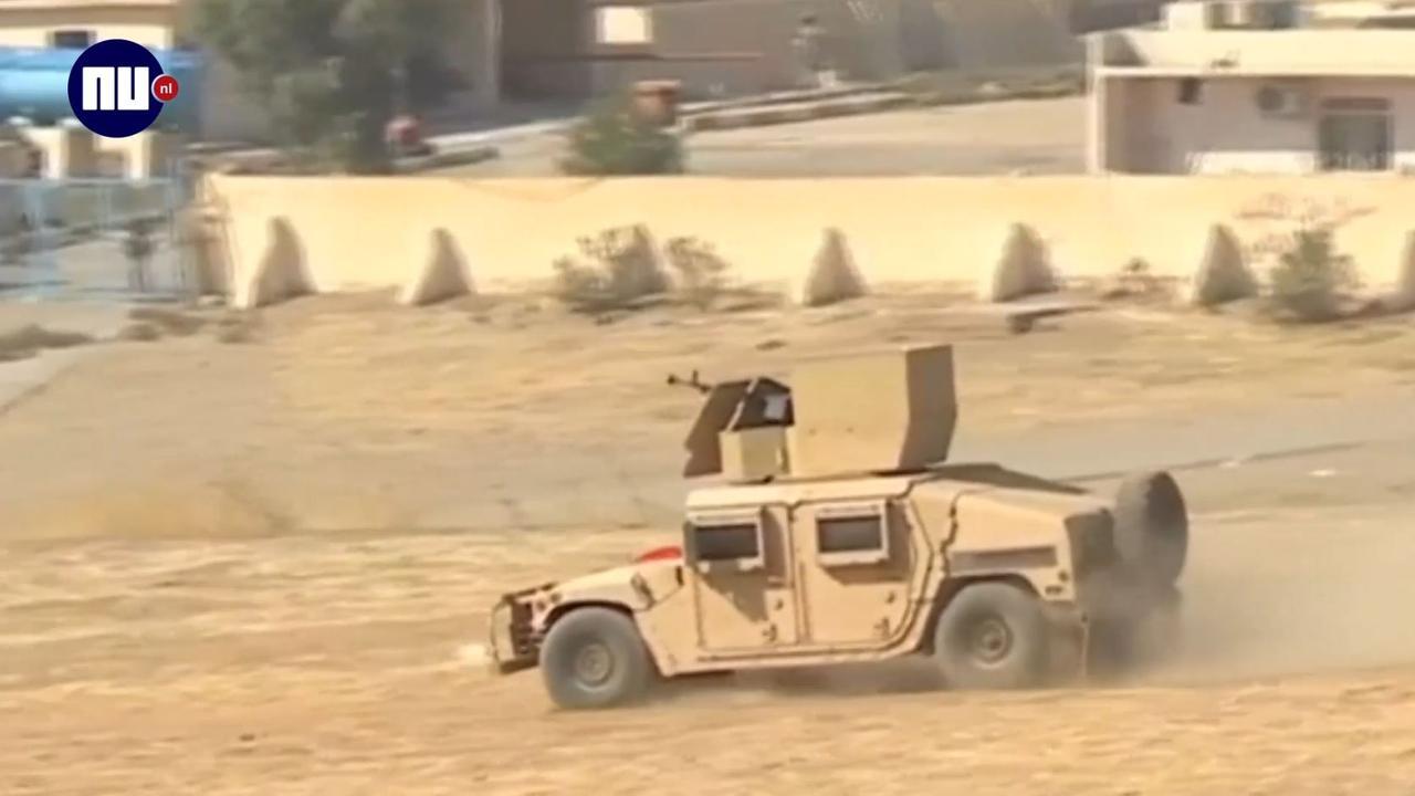 Koerdische strijders in Irak veroveren Bashiqa op IS