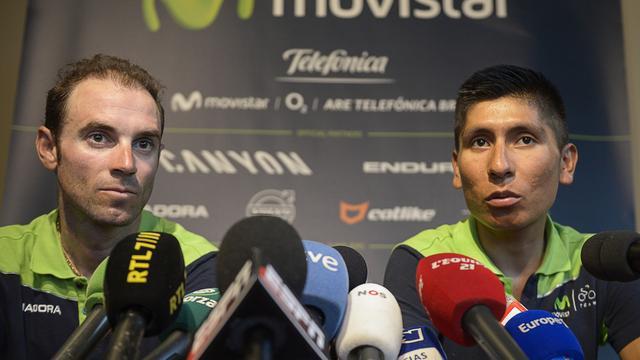 Quintana en Valverde zijn van plan aan te vallen in Alpen