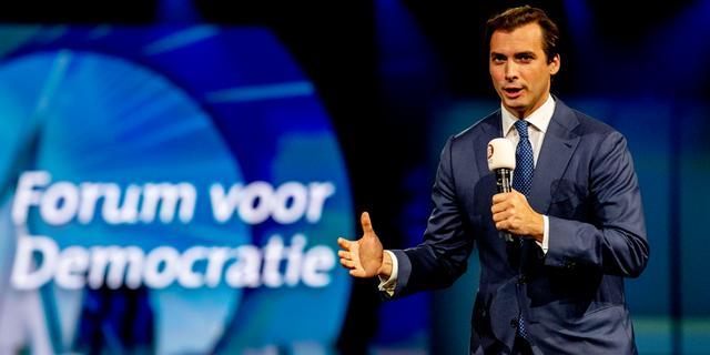 Baudet trekt zich terug als lijsttrekker Forum voor Democratie