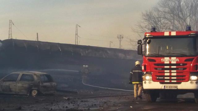 Trein ontspoort en explodeert in Bulgarije