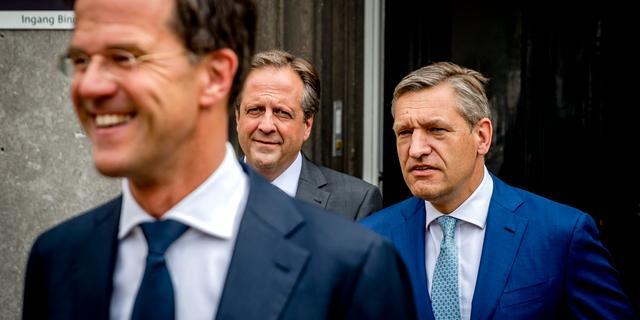 Onderhandelaars praten maandag verder in Johan de Witthuis