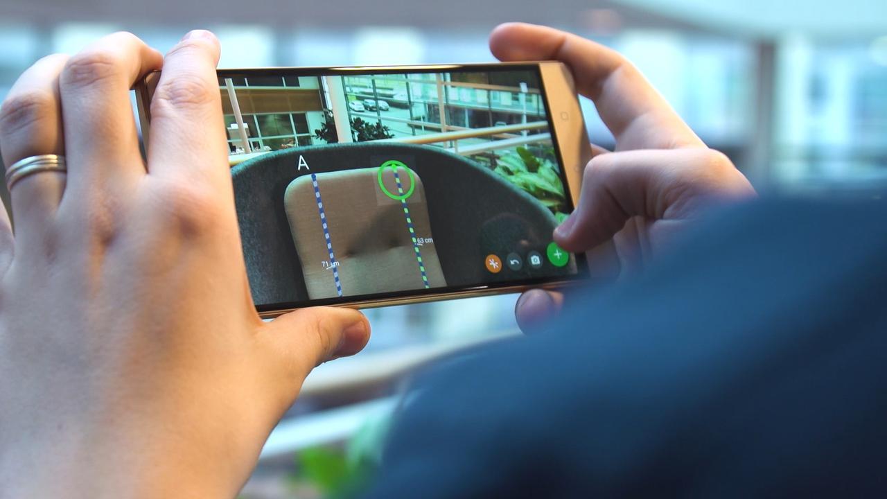 Review: Augmentedreality-telefoon Phab 2 Pro