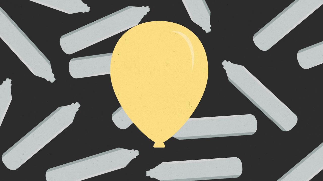 Verbod op recreatief gebruik lachgas: dit doet de partydrug met je