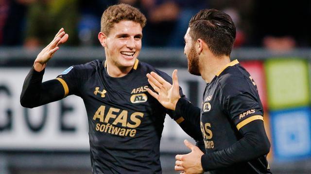 AZ kent weinig problemen met Willem II, belangrijke zege Roda JC