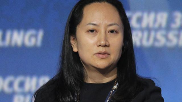 Gearresteerde Huawei-topvrouw Meng Whanzou klaagt Canada aan