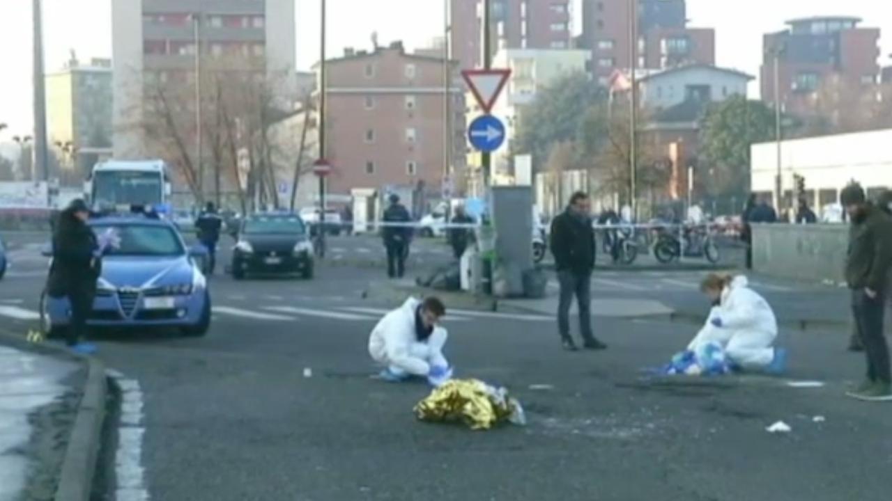 Politie onderzoekt plek waar verdachte aanslag Berlijn is gedood