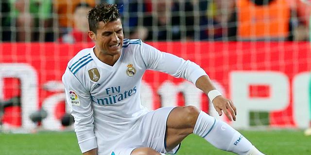 Real-trainer Zidane niet bang dat pijnlijke enkel Ronaldo CL-finale kost