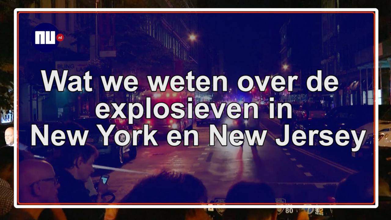 Wat we weten over de explosieven in New York en New Jersey