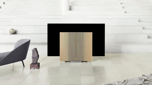 Nieuwe Bang & Olufsen-tv heeft uitvouwbare speakers