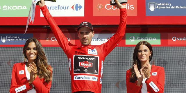 Dumoulin nieuwe leider in Vuelta, Australiër Ewan wint vijfde rit