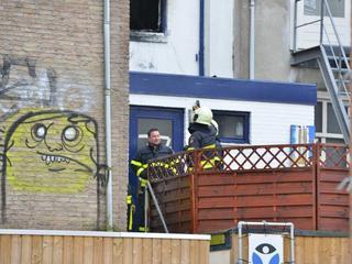 Brandweer heeft het pand zondag gecontroleerd