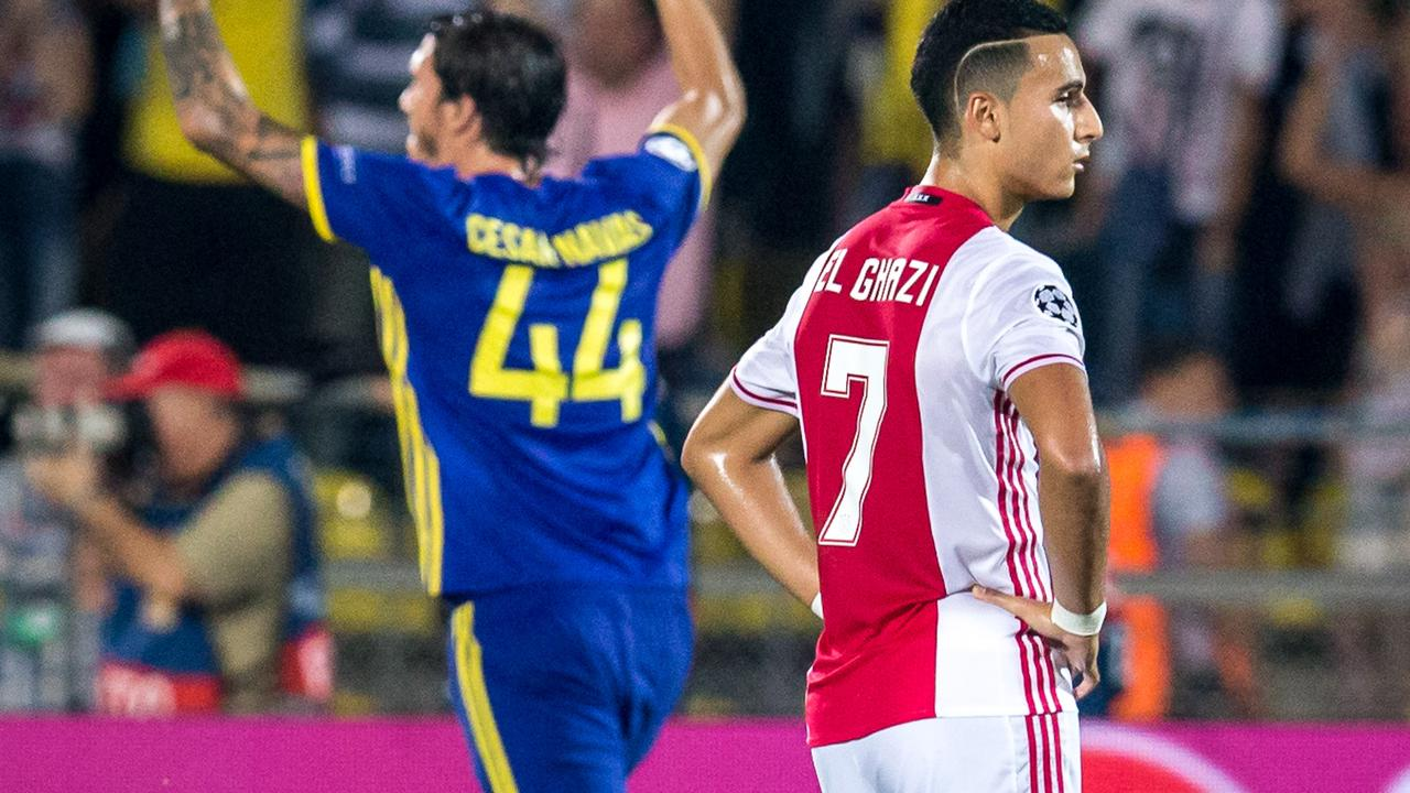 Samenvatting FK Rostov-Ajax (4-1)