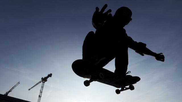 Surinameplein verandert in skatepark