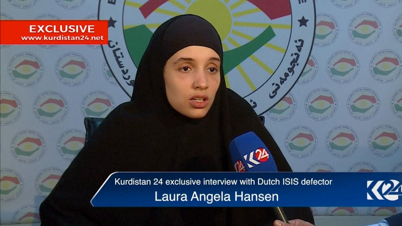 Laura Hansen vertelt over haar tijd in Syrië