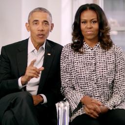 Video: Obama's feliciteren Diana Ross met winnen van award