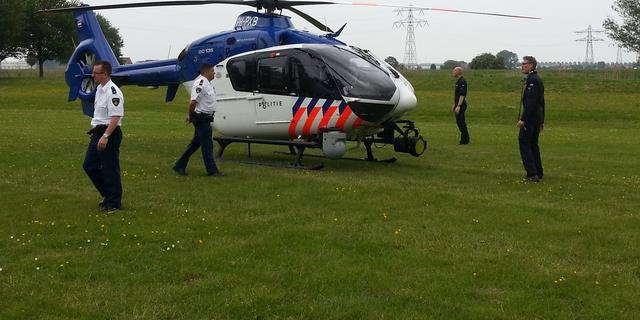 Politiehelikopter ingezet bij zoektocht naar vermiste vrouw