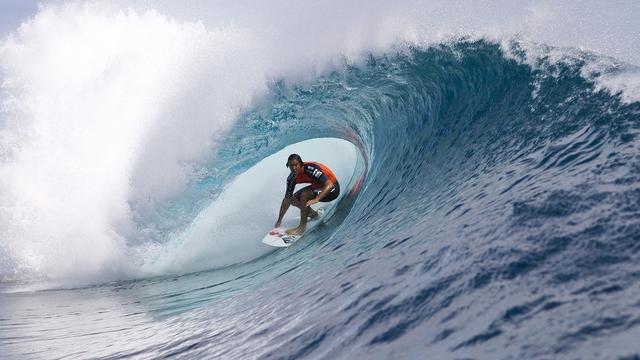 Golfsurfers wijken bij Spelen in Parijs 15.000 kilometer uit naar Tahiti