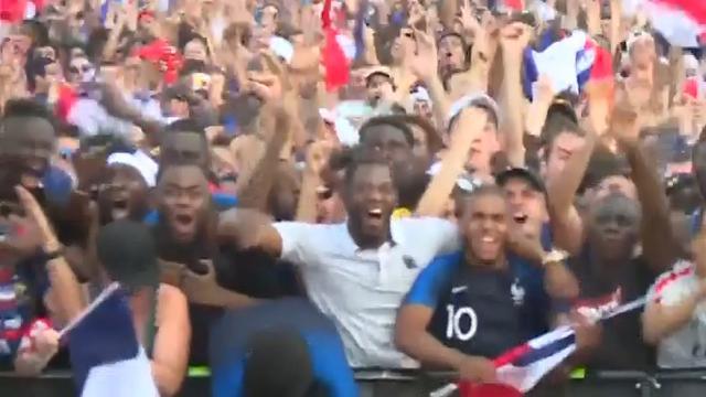 Uitzinnige Fransen vieren feest na WK-winst