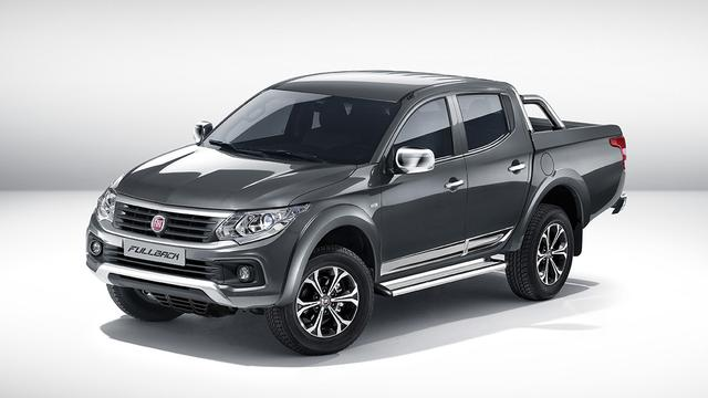 Fiat presenteert Fullback pick-up