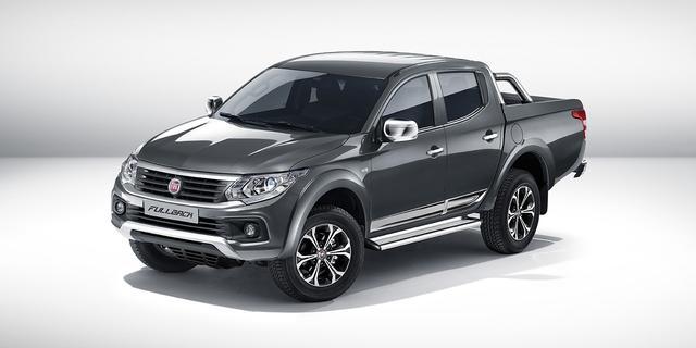 Fiat presenteert Fullback pick-up
