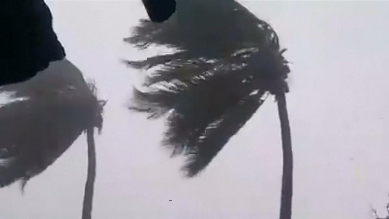 Cycloon veroorzaakt hevige wind en regenval in Mozambique